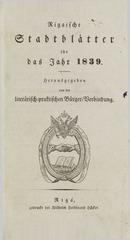 rigasche stadtblatter 1839 ocr ta