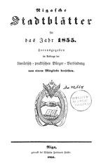 rigasche stadtblatter 1855 ocr ta pe