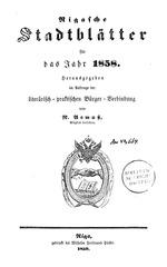 rigasche stadtblatter 1858 ocr ta