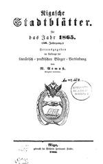 rigasche stadtblatter 1865 ocr ta