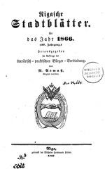 rigasche stadtblatter 1866 ocr ta pe