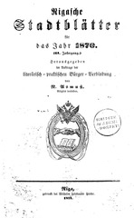 PDF Document rigasche stadtblatter 1870 ocr ta