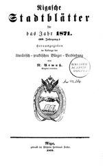 PDF Document rigasche stadtblatter 1871 ocr ta pe