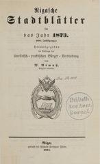 rigasche stadtblatter 1873 ocr ta