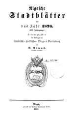 PDF Document rigasche stadtblatter 1876 ocr ta