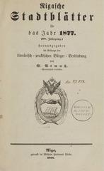 rigasche stadtblatter 1877 ocr ta pe