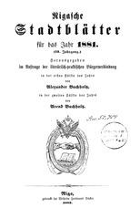 rigasche stadtblatter 1881 ocr ta