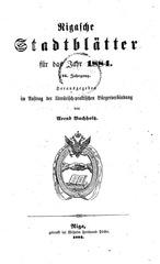 rigasche stadtblatter 1884 ocr ta