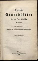 rigasche stadtblatter 1886 ocr pe