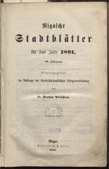 rigasche stadtblatter 1891 ocr pe
