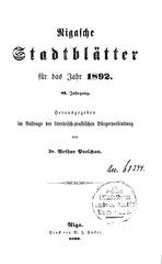 rigasche stadtblatter 1892 ocr ta