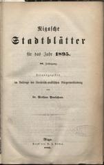 rigasche stadtblatter 1895 ocr pe ha