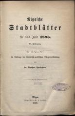 rigasche stadtblatter 1896 ocr pe