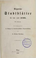 rigasche stadtblatter 1899 ocr ta