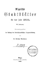 PDF Document rigasche stadtblatter 1901 ocr ta