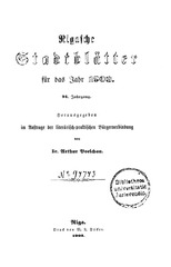PDF Document rigasche stadtblatter 1903 ocr ta