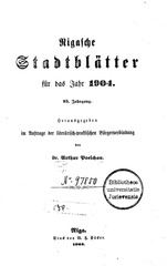 rigasche stadtblatter 1904 ocr ta pe