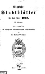 PDF Document rigasche stadtblatter 1905 ocr ta pe