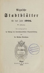 PDF Document rigasche stadtblatter 1906 ocr ta