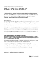PDF Document konference om udviklende relationer