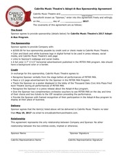 2017 adopt a bus agreement