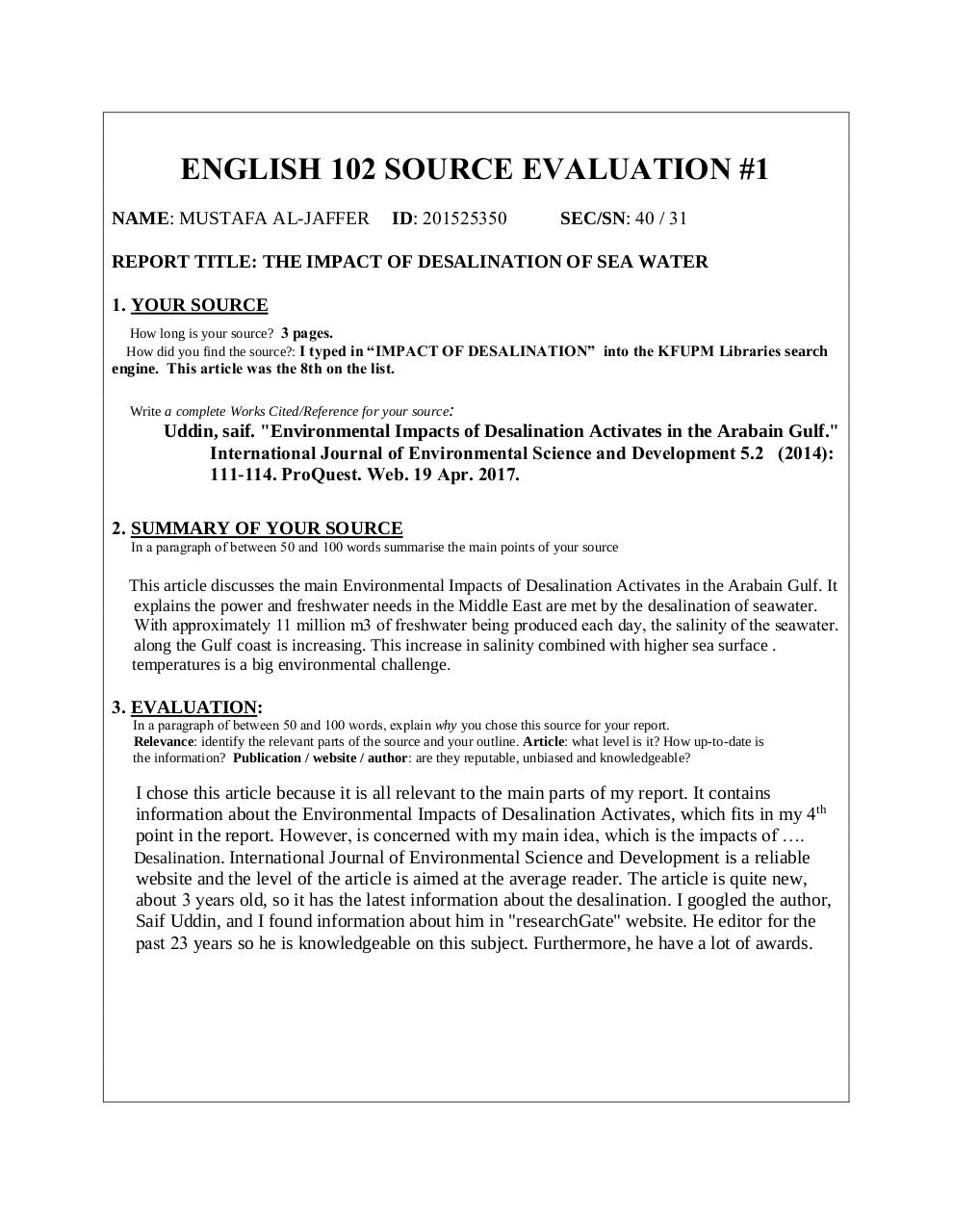 P source evaluation template pdf pdf archive international journal of environmental science and development is a reliable and the level of the article is aimed at the average reader pronofoot35fo Images