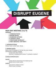 may day 4 15 meeting notes