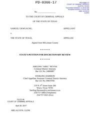 states petition discretionary review
