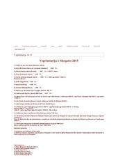 veprimtarija 2015 2014