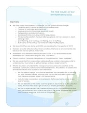 PDF Document the real cause of our environmental crisis handout