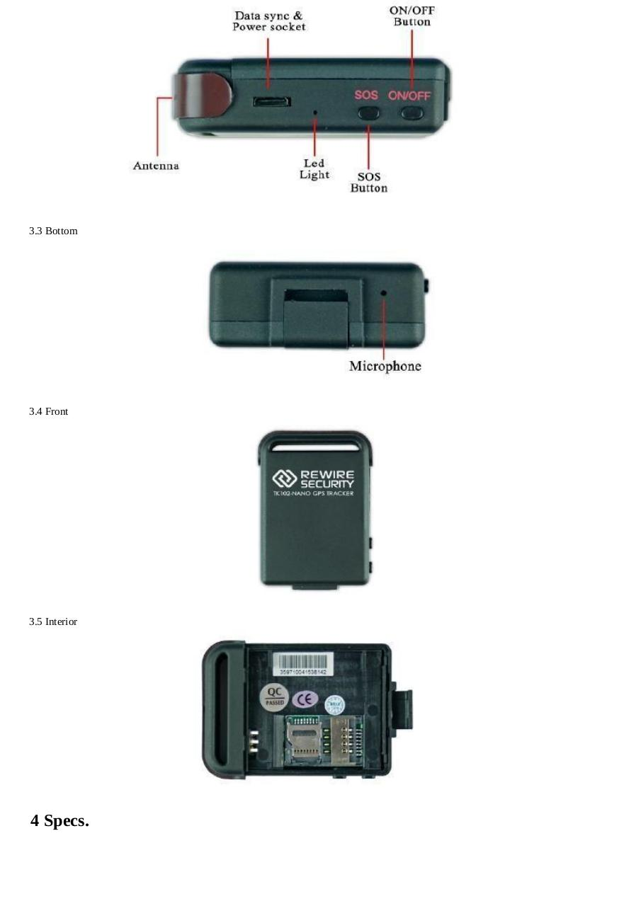 102-nano-gps-tracker-user-manual22.pdf - page 4/22