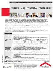 cmhc rental policy