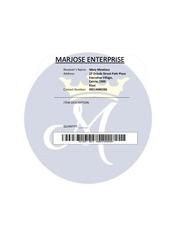 PDF Document label copy