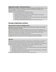 PDF Document application mobile musees du maroc