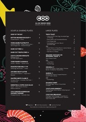 coo bistro and boutique hostel menu 4mb