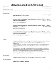 PDF Document my resume