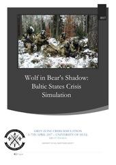 baltic crisis simulation 2017 concept paper