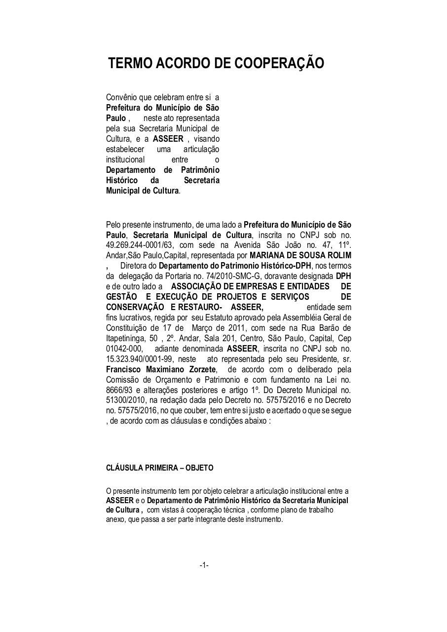 Preview of PDF document termo-de-convenio-asseer-dph-09-03-2017.pdf - Page 1/6