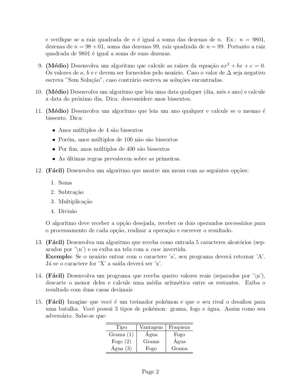 Document preview Lista 2.pdf - page 2/3
