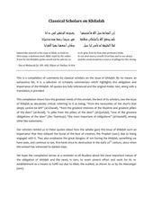PDF Document classical scholars on khilafah