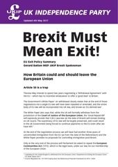 brexit must mean exit 04 05 17