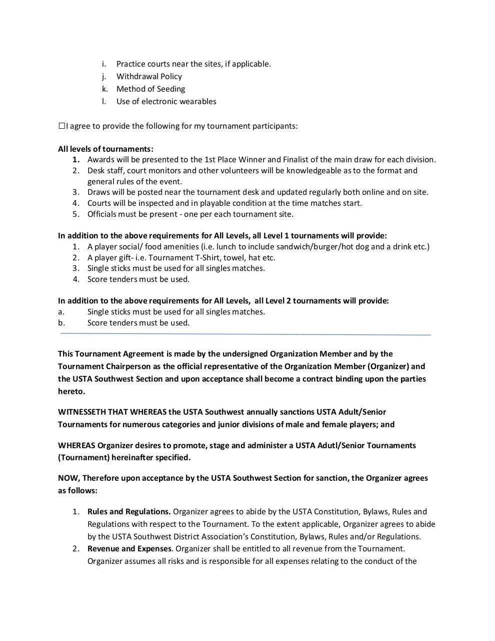 2018 Adult_Senior Tournament Director agreement.pdf - page 2/3