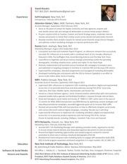 resume davidshaulov