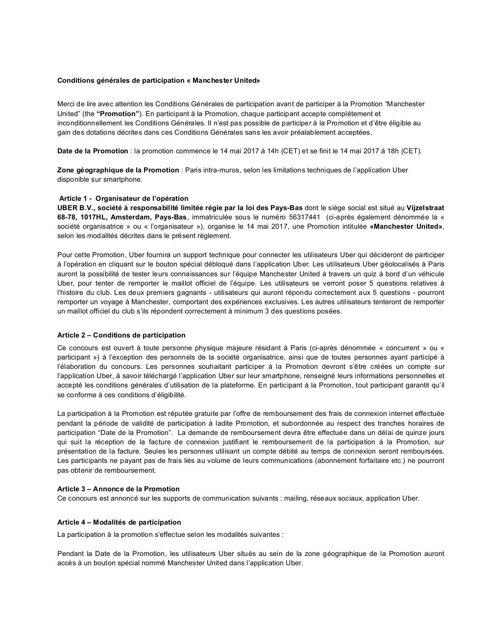 Conditions générales - Manchester United - Paris - V4.pdf - page 1/4