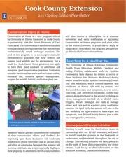 spring newsletter 2017