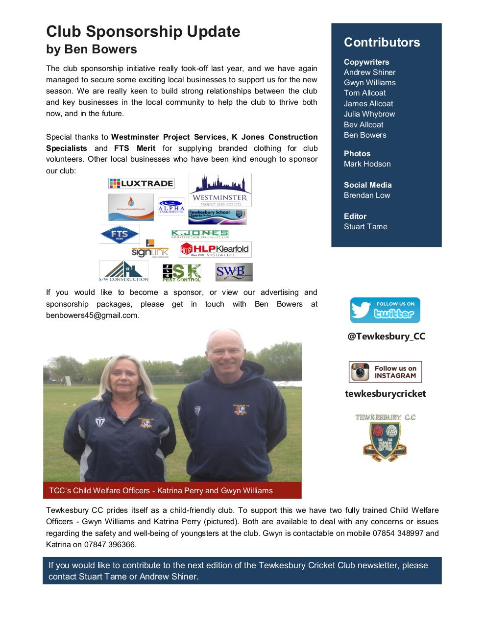 Document preview TCC Newsletter - Spring 2017.pdf - page 4/4