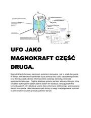 ufo jako magnokraft cz druga