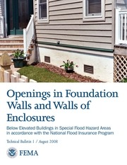 fema technical bulletin openings in foundation walls