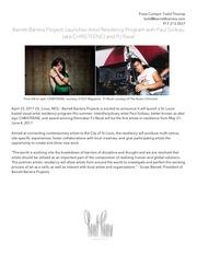 press release christeene pj residency