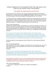PDF Document heftiger schlagabtausch um wengelsbacher stra e